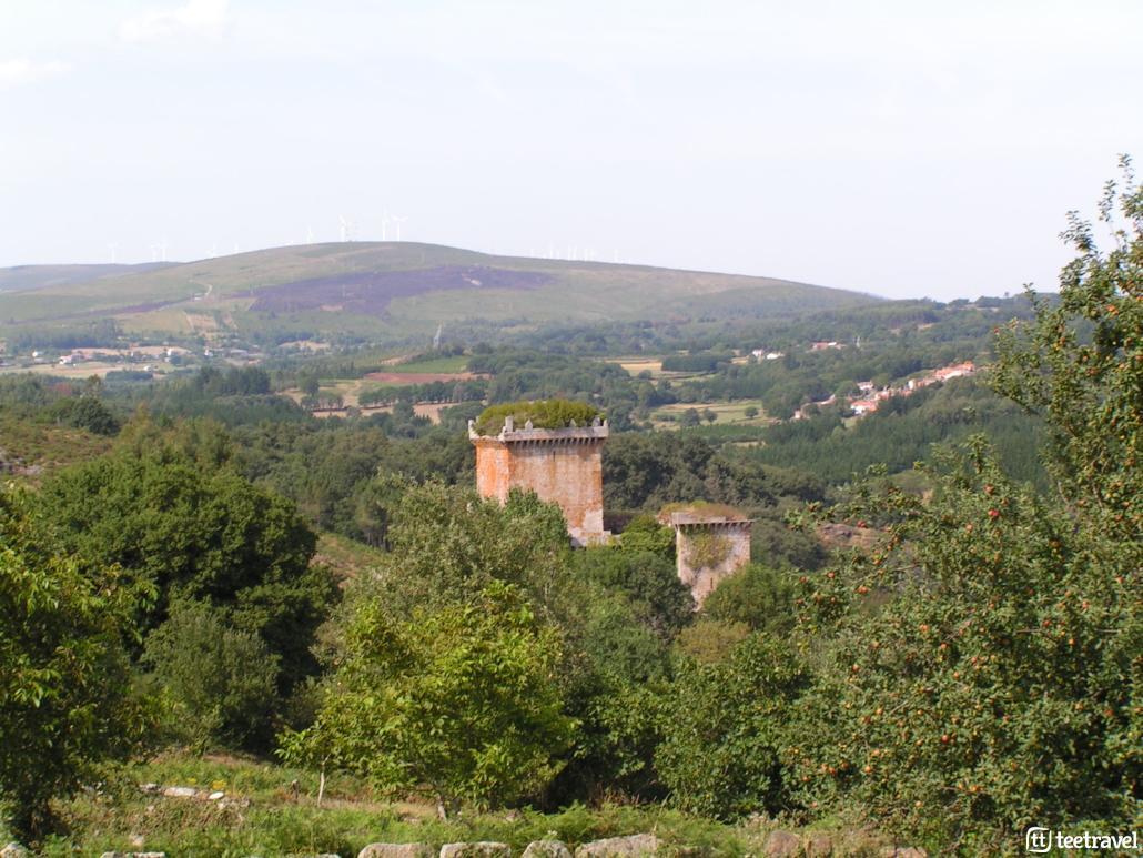 Que hacer en el Camino Primitivo: visitar el Castillo de Pambre