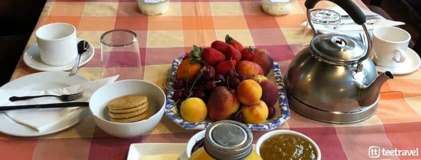 Camino Francés en grupo con Tee Travel - desayunos enérgicos
