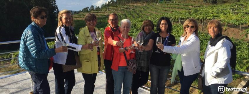 Gastronomía en el Camino Portugués: los buenos vinos