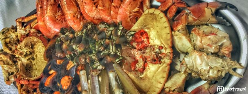 Gastronomía en el Camino Portugués: marisco gallego