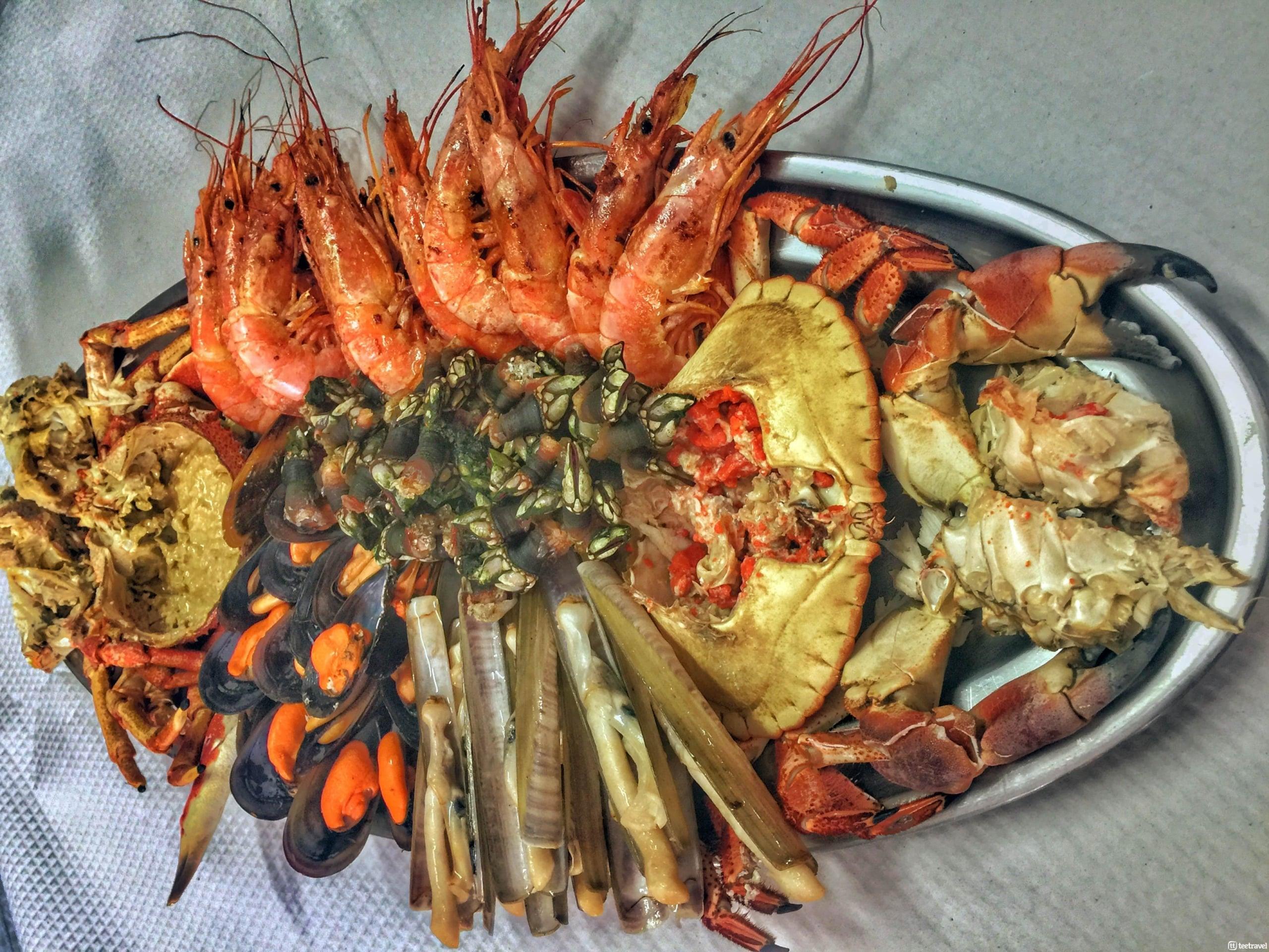 Gastronomía de Galicia - Marisco