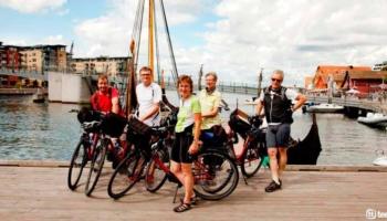 Viaje en bicicleta por los puertos del Fiordo de Oslo