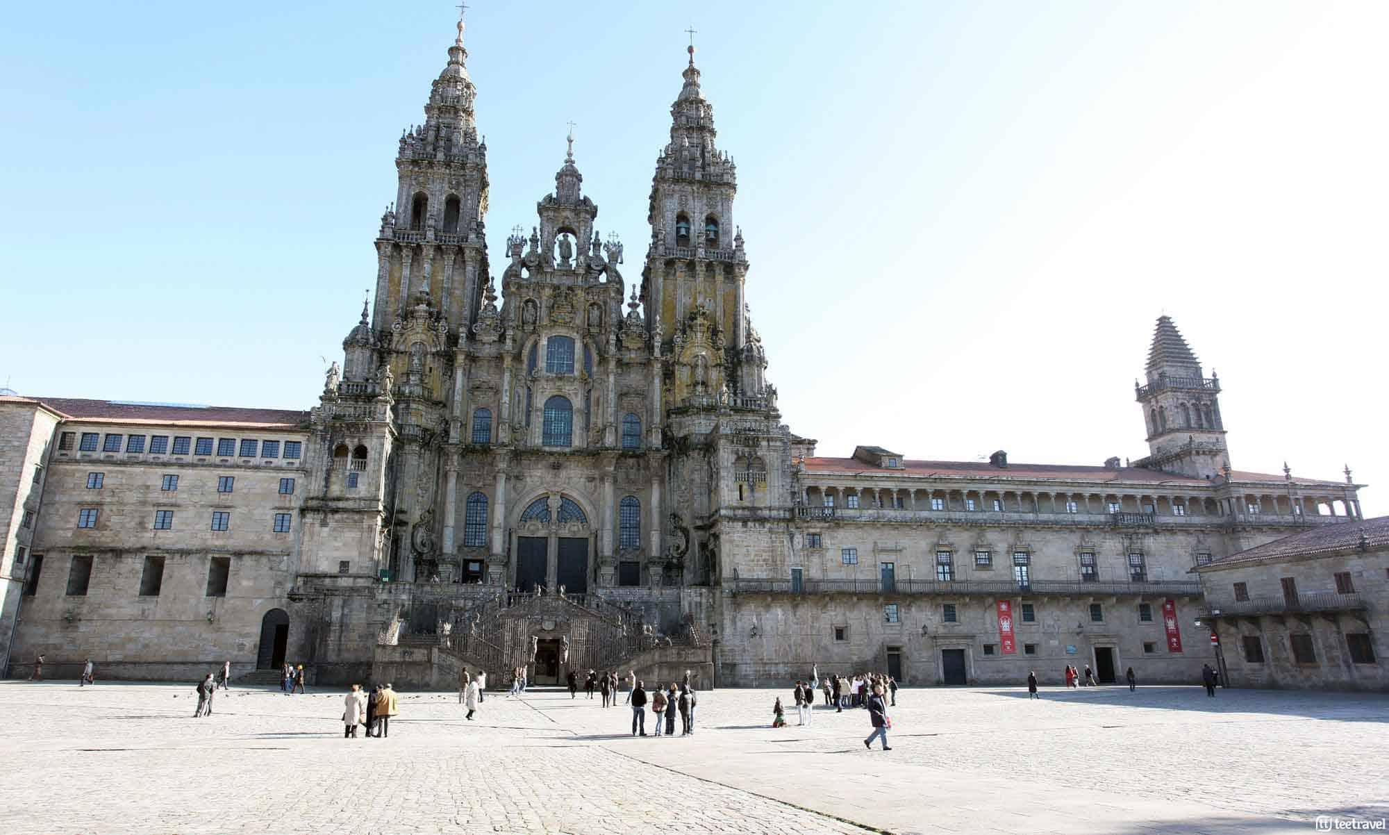 Santiago de Compostela: lugares emblemáticos - Plaza Obradoiro
