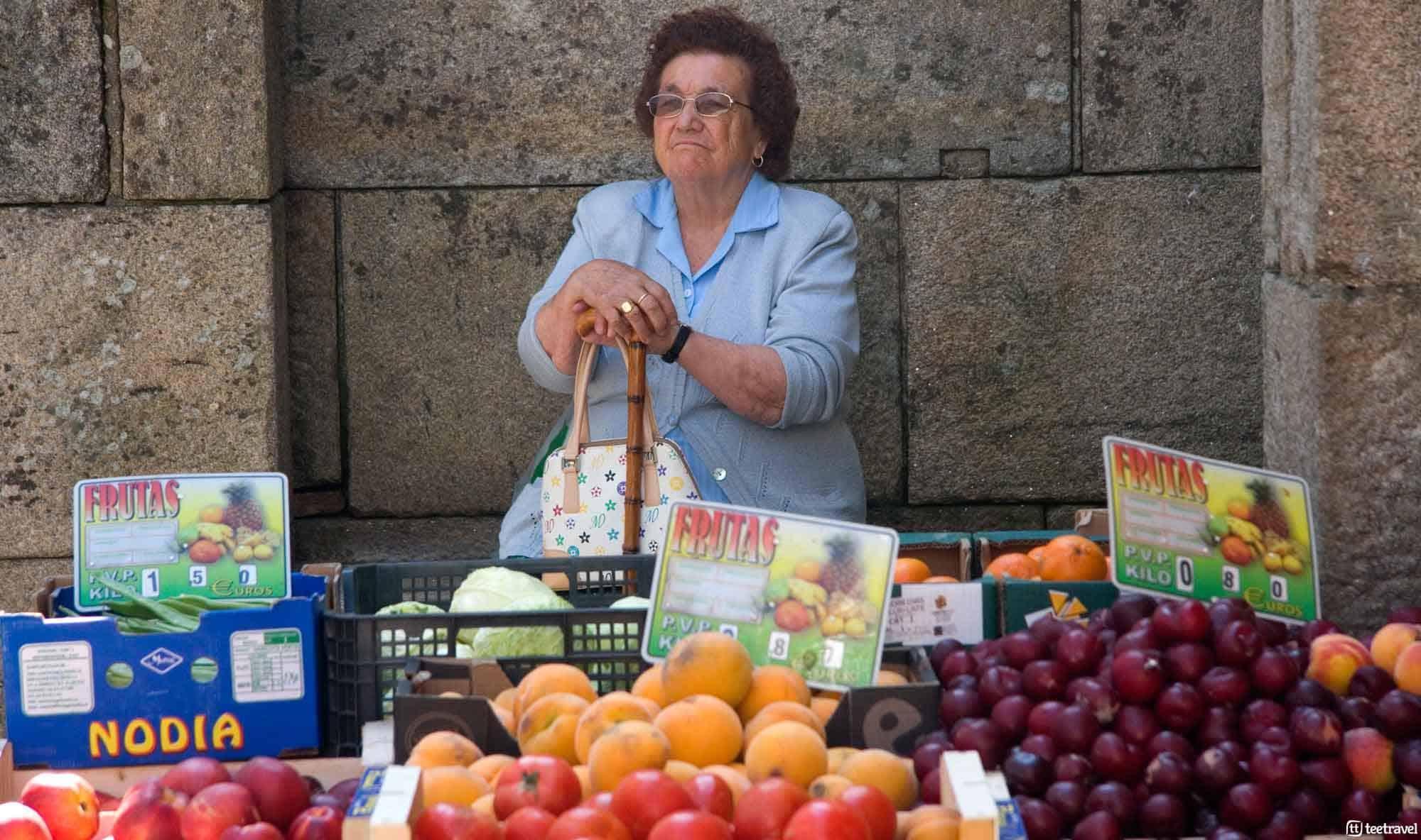 Santiago de Compostela: lugares emblemáticos - Mercado de Abastos