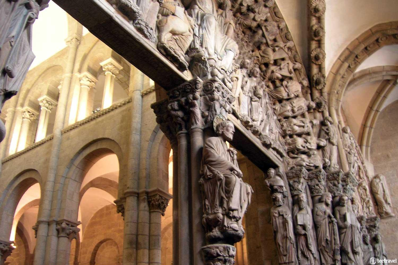 Que ver en Santiago de Compostela - Pórtico de la Gloria