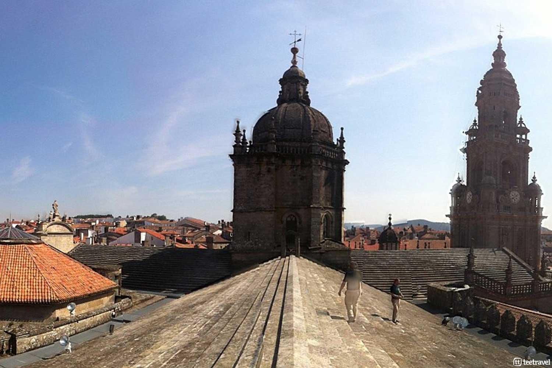 Que ver en Santiago de Compostela - Cubiertas de la Catedral de Santiago