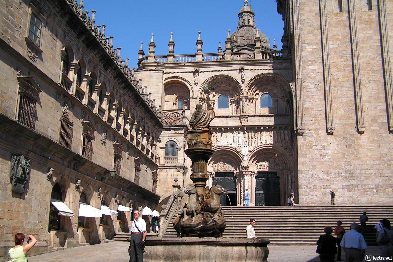 Que ver en Santiago de Compostela - Plaza Praterías