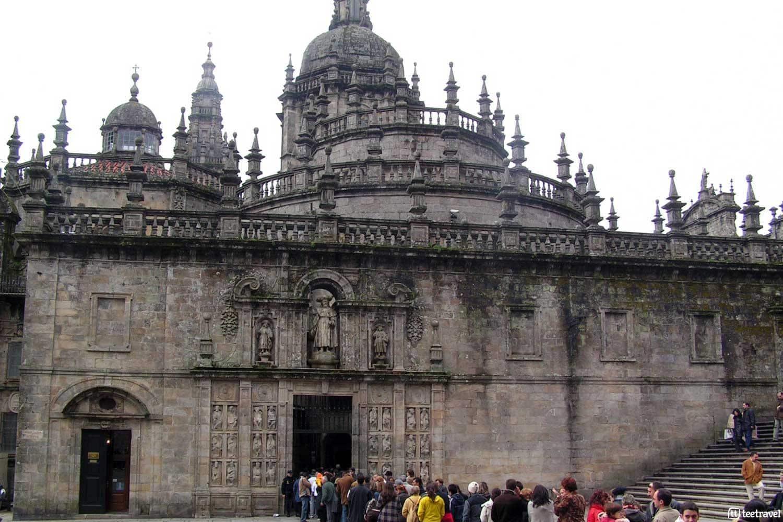 Que ver en Santiago de Compostela - Plaza de Acibecheria