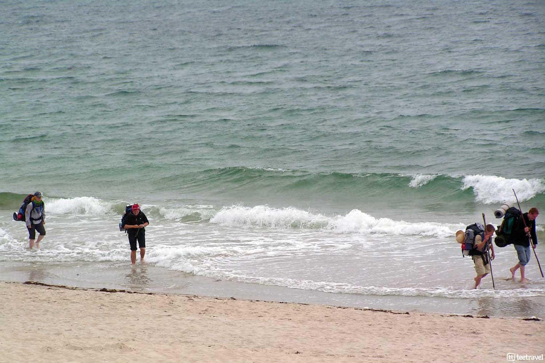 Camino de Fisterra y Muxia - Playa Langosteira
