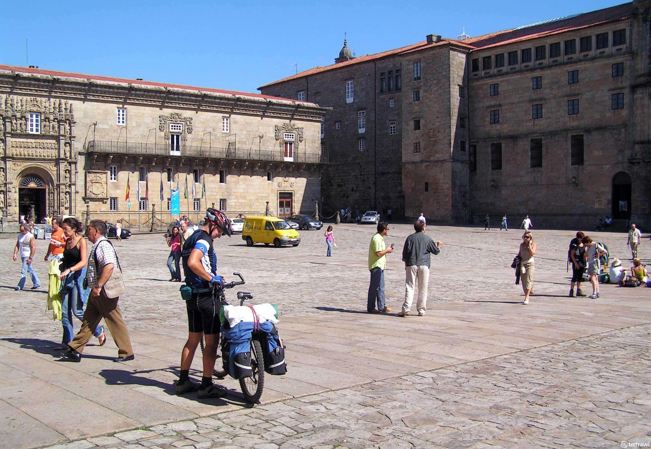 Que ver en Santiago de Compostela - Pazo de Xelmírez y Parador de los Reyes Católicos