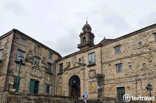 Convento de San Domingos de Bonaval y la iglesia
