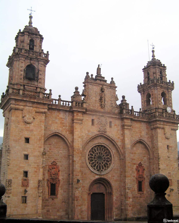 10 cosas que puedes hacer en el Camino del Norte - Catedral de Mondoñedo