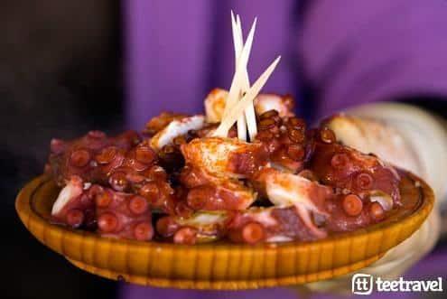 Fiestas gastronómicas Galicia Camino de Santiago