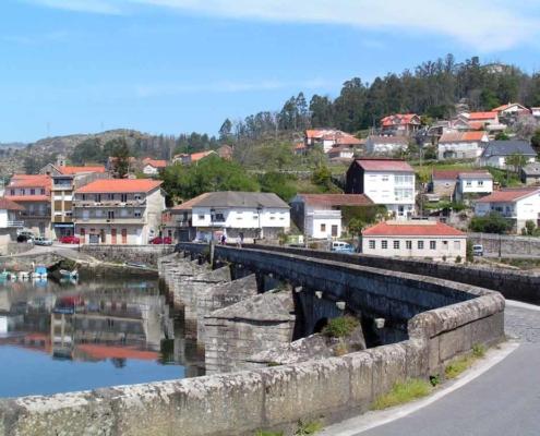 Etapas del Camino portugués desde Tui