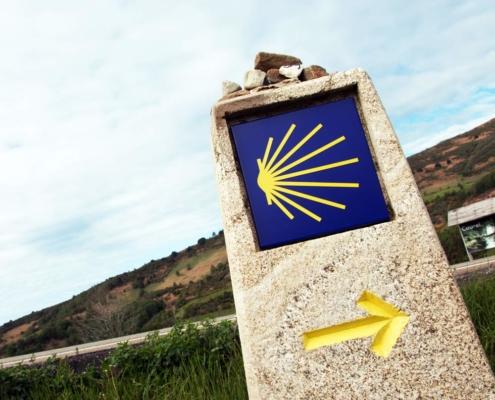 Flechas Camino Santiago