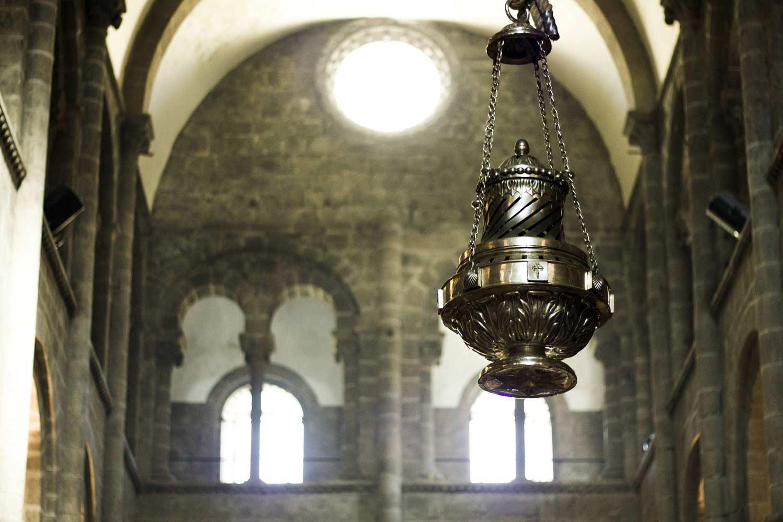 Bota fumeiro Catedral de Santiago