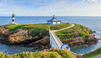 Mariña Lucense y Costa da Morte: costa gallega norte