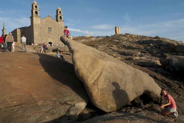 Costa da Morte Santuario da Virxe da Barca