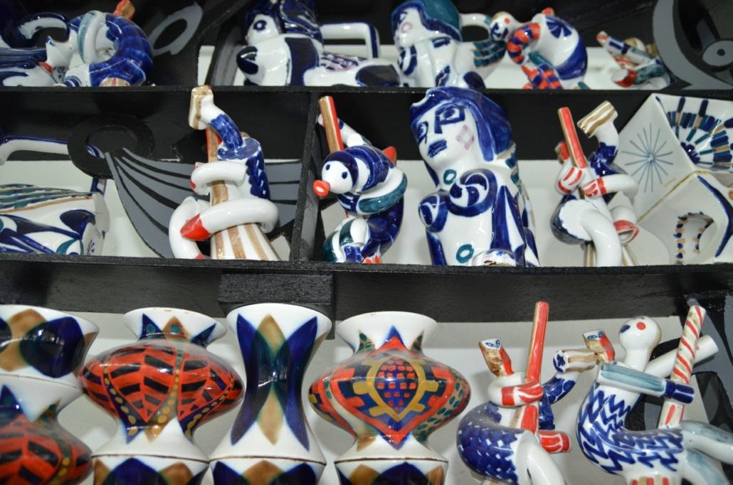 Cervo fabrica ceramica sargadelos