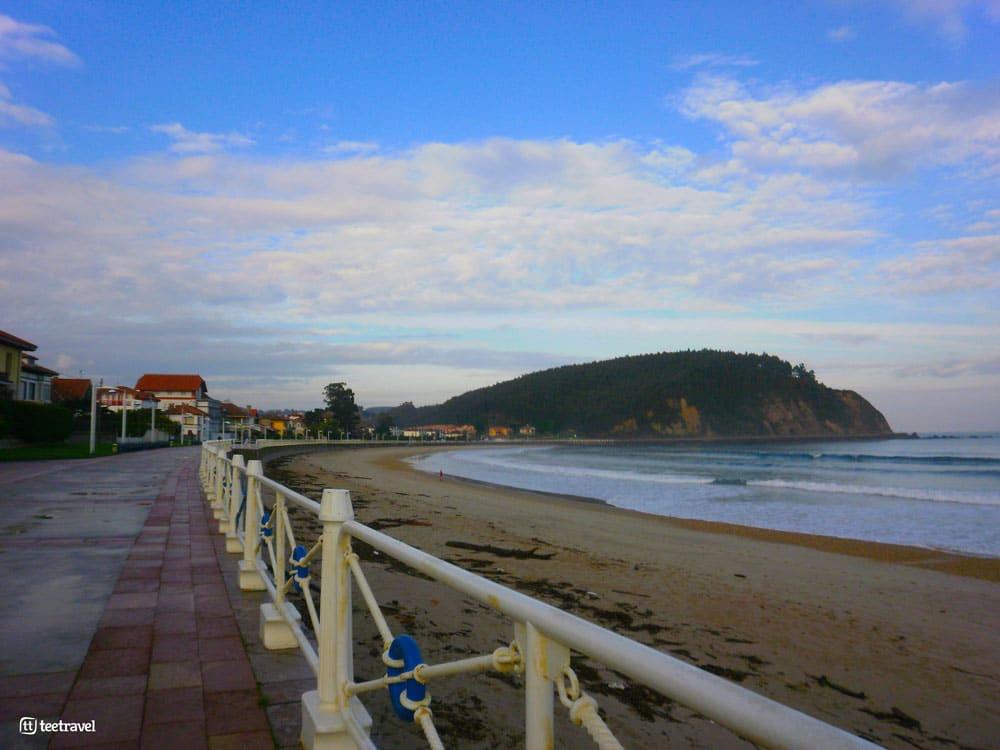Camino del Norte - Ribadesella - Playa Santa Marina