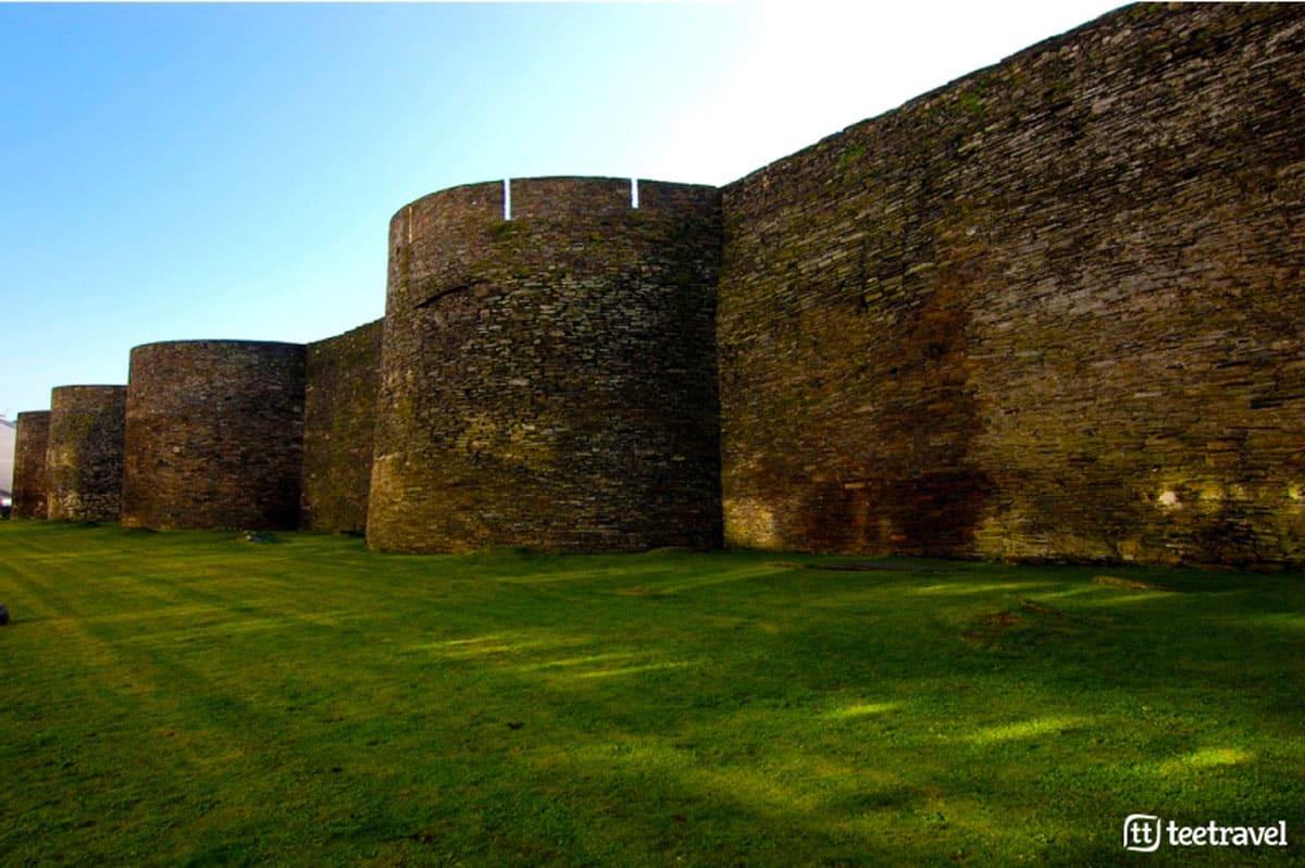 Camino Primitivo - Muralla Romana de Lugo