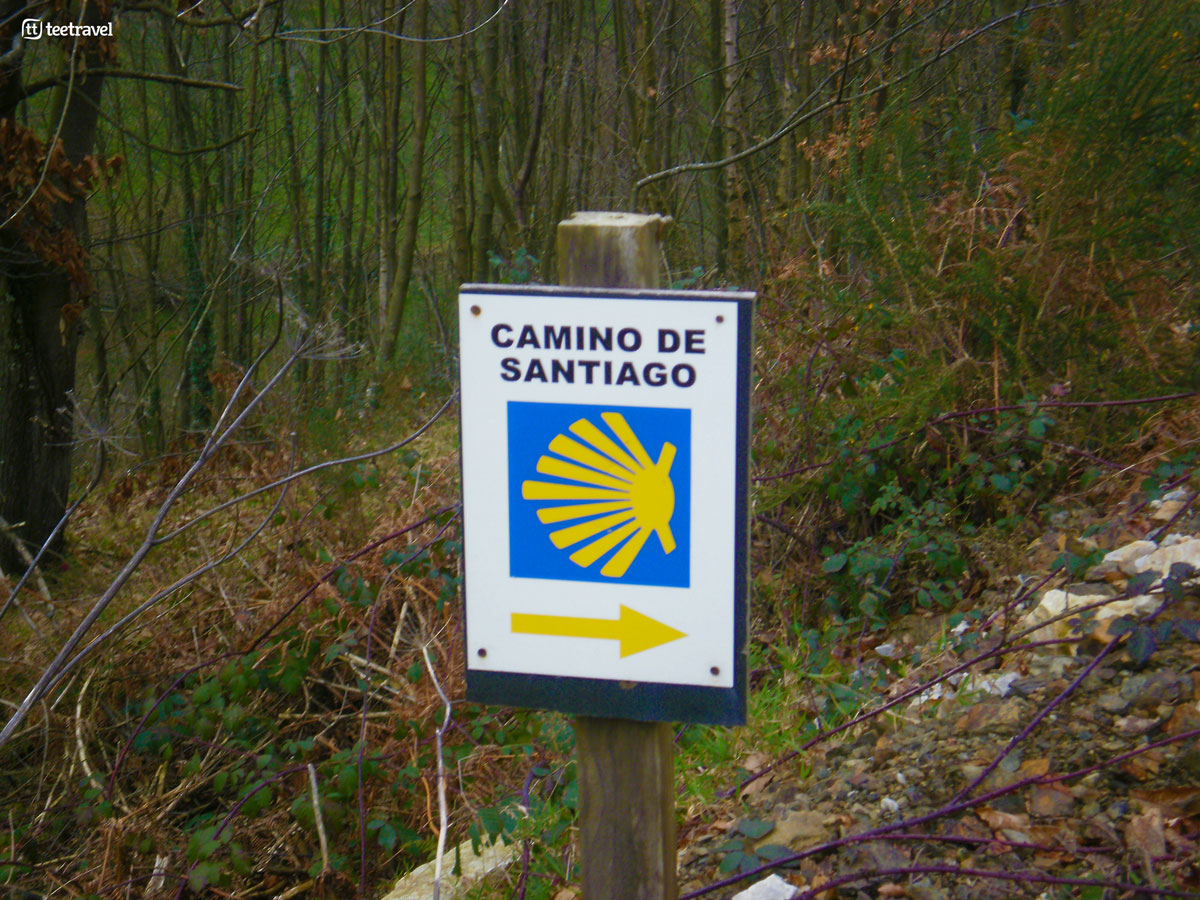 Camino Primitivo - Señal