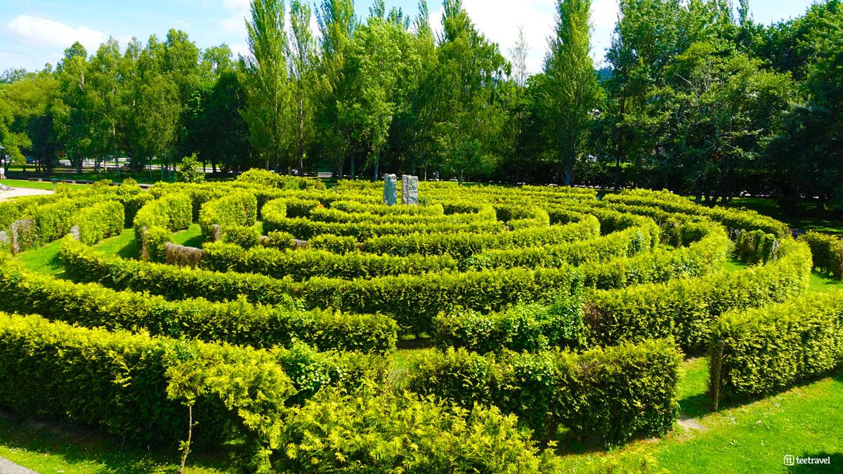 Camino Inglés - Betanzos - Jardines del Pasatiempo