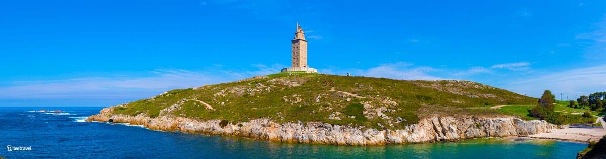 Camino Inglés - A Coruña - Torre de Hércules