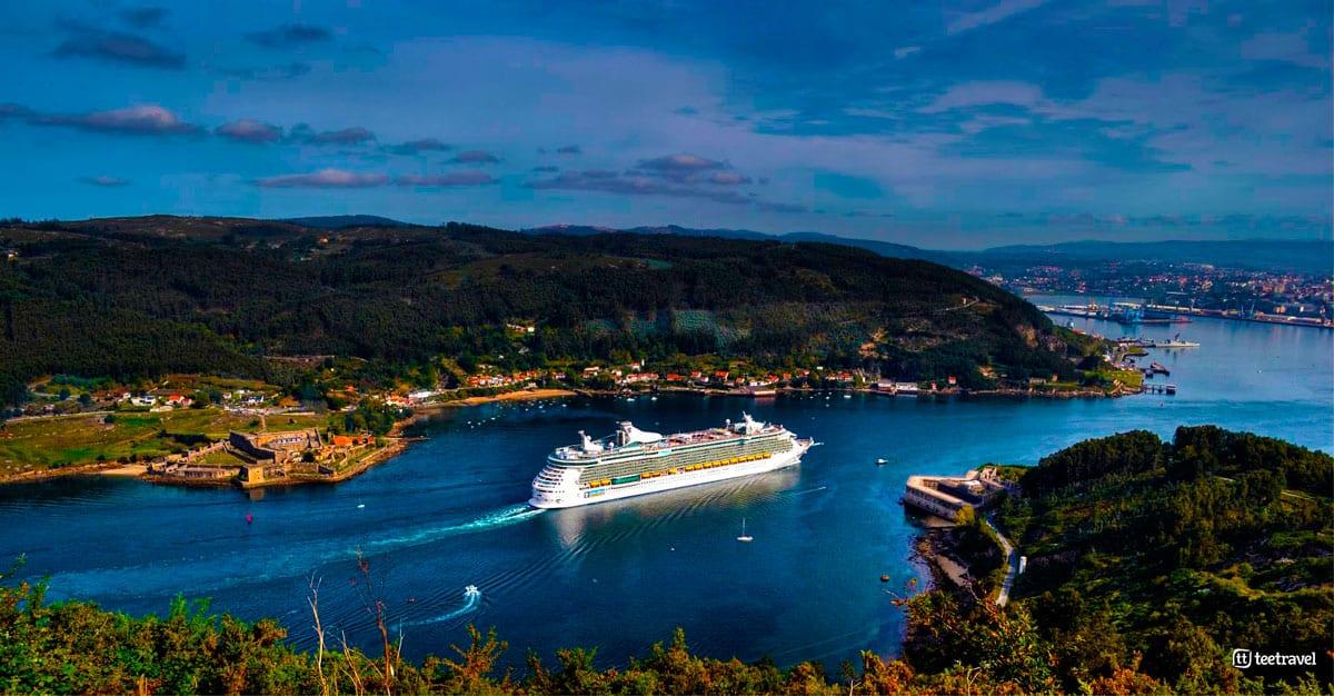 Camino Inglés - Ferrol - Castillo de San Felipe