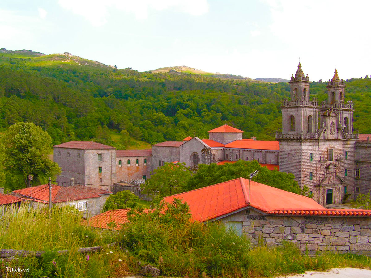 Vía de la Plata - Monasterio de Oseira