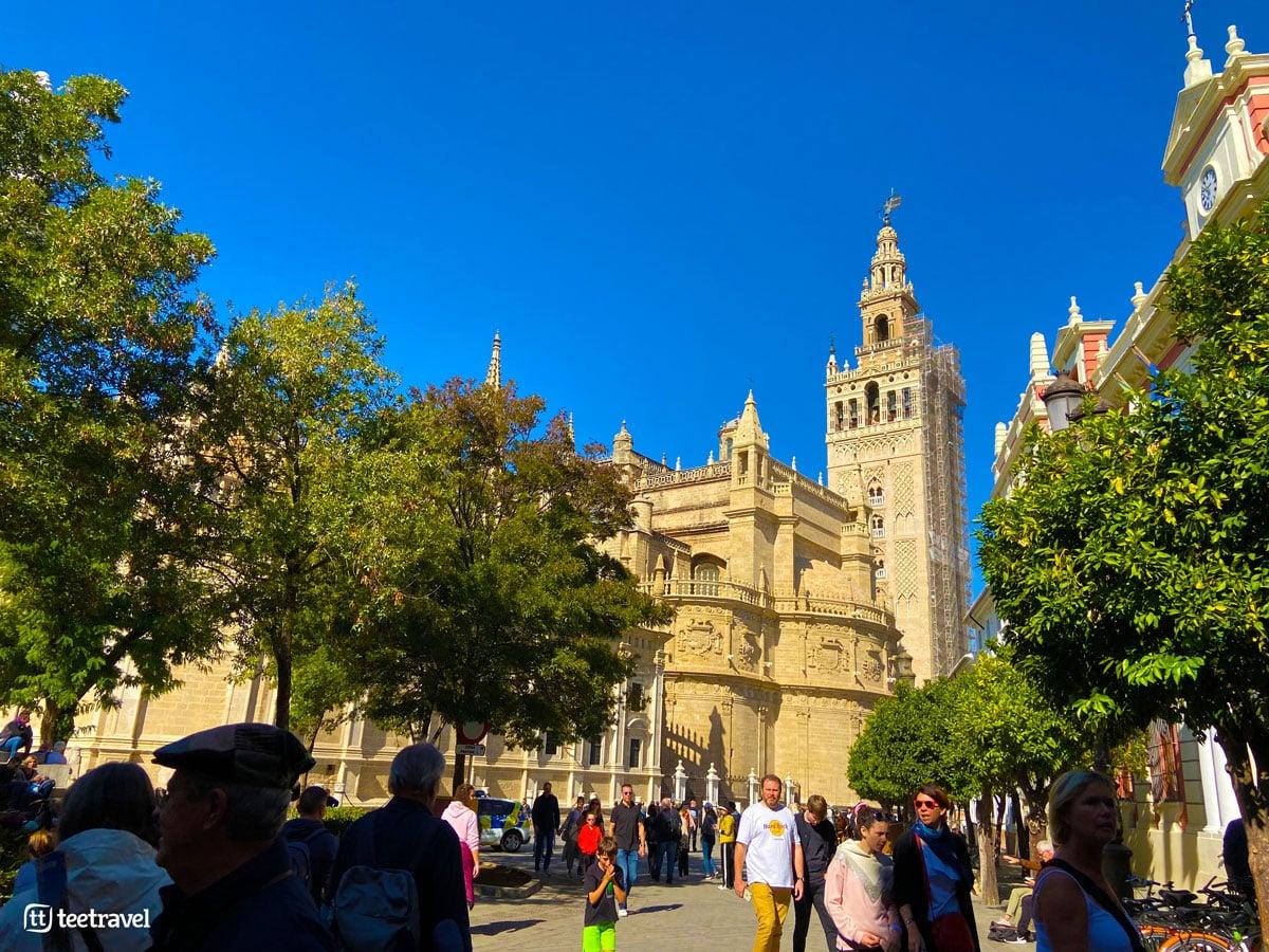 """Vía de la Plata - Sevilla - Catedral de Santa María - Torre Campanario """"La Giralda"""""""