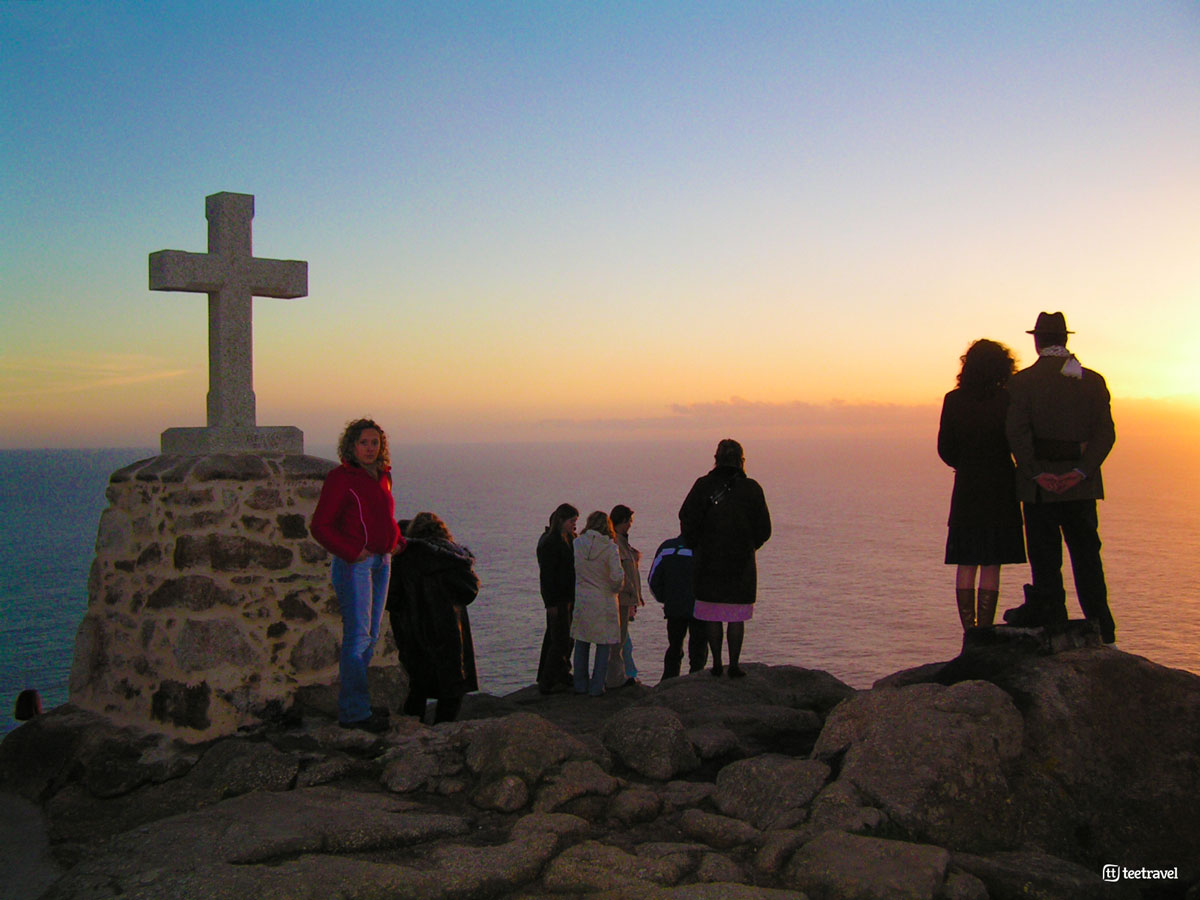 Cabo Fisterra - Puesta de Sol