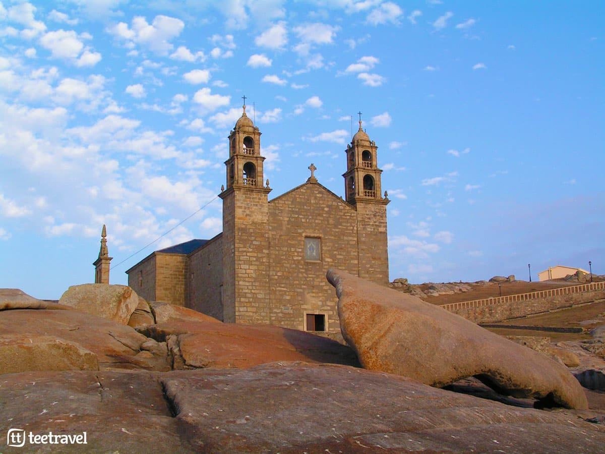 Camino de Santiago a Fisterra-Muxía - Punta Xaviña - Santuario de Nuestra Señora de la Barca