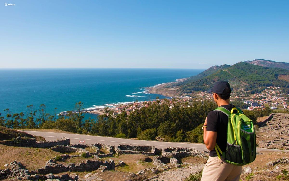 Camino Portugués por la Costa - A Guarda - Monte de Santa Tecla