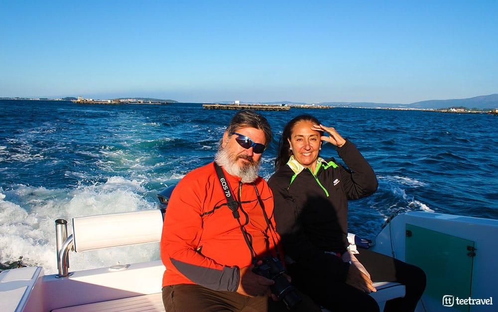 Camino Portugués por la Costa - Ruta Marítima - Ría de Arousa