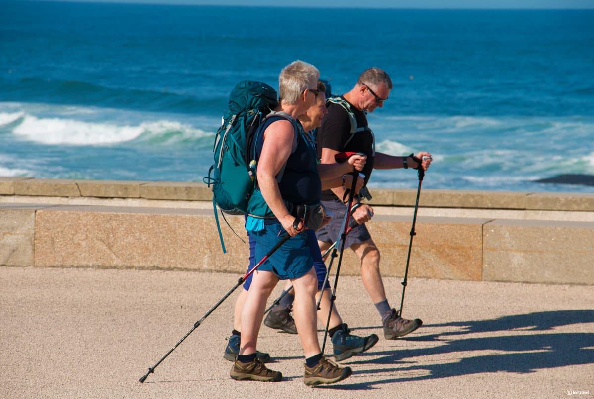Camino Portugués por la Costa - Playa Leça Palmeira