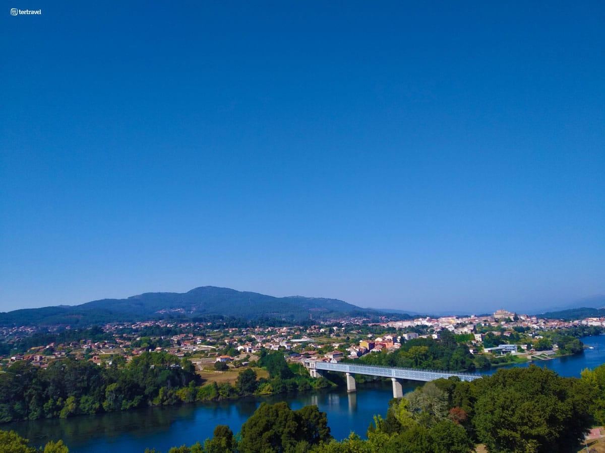 Camino Portugués - Puente Internacional entre España y Portugal - Tui-Valença do Minho