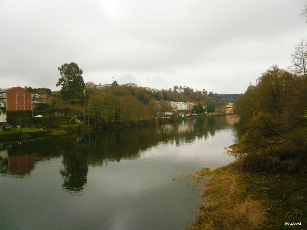 Río Miño en Lugo - Camino Primitivo