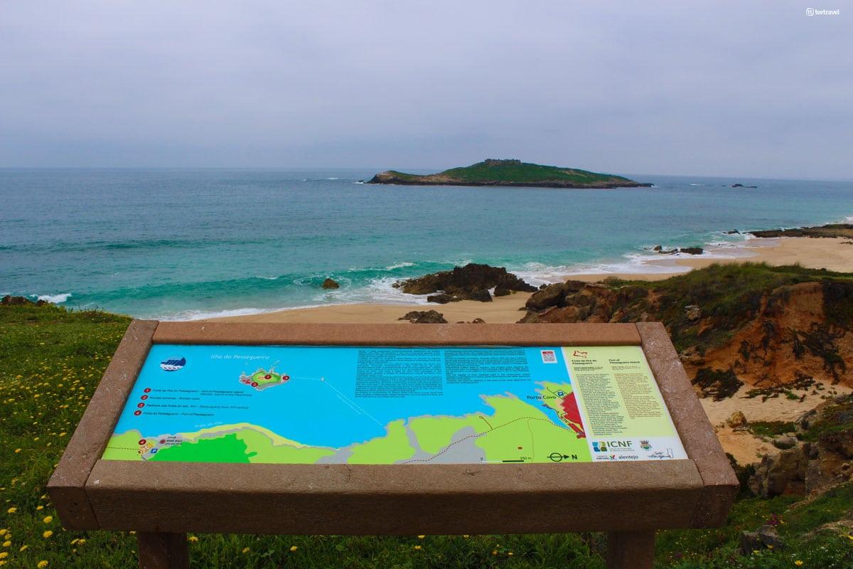 Rota Vicentina - Isla Pessegueiro