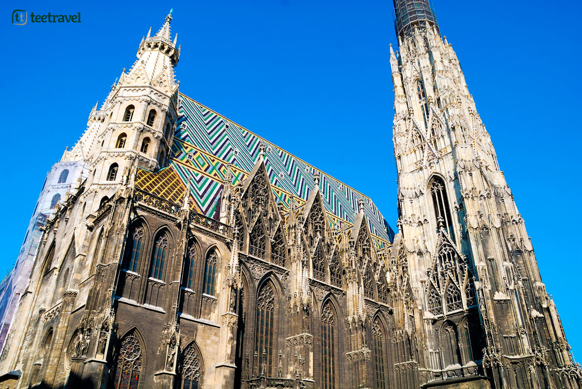 Ruta del Danubio en bici - Catedral de San Esteban en Viena
