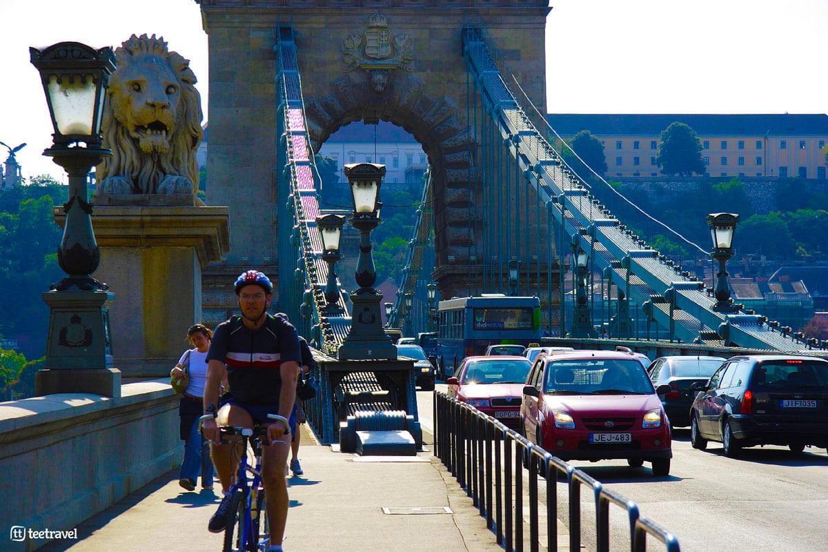 Ruta del Danubio en bici - Budapest