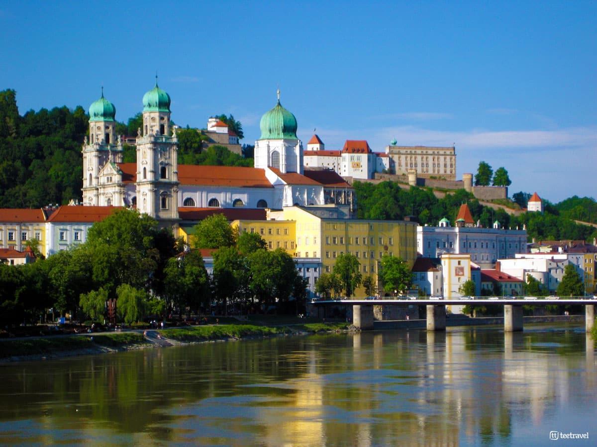 Ruta del Danubio en bici - ciudad de Passau