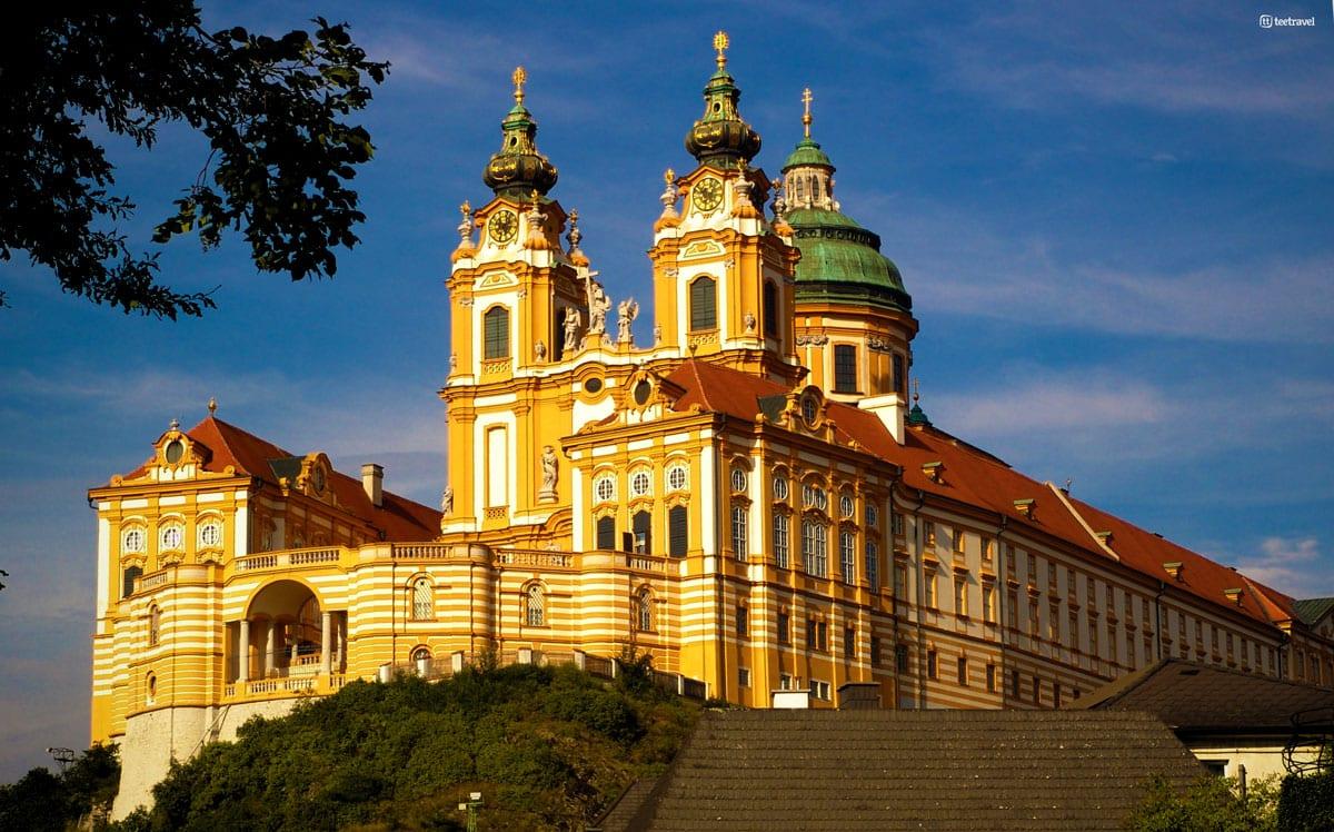 Ruta del Danubio en bici - Abadía de Melk