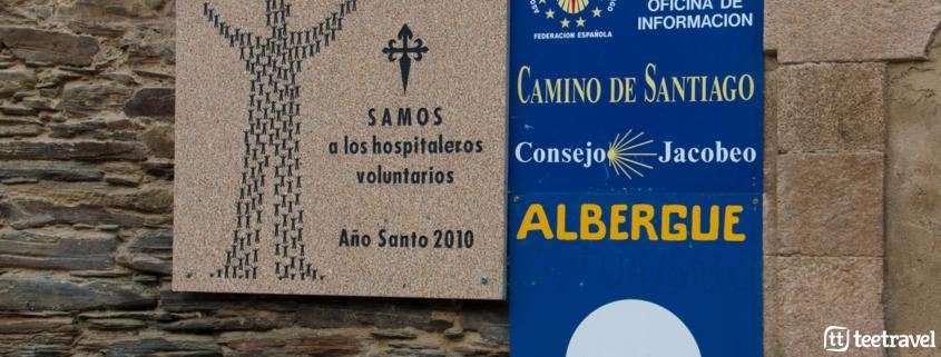 Albergue Monasterio de San Julián de Samos - Camino Francés