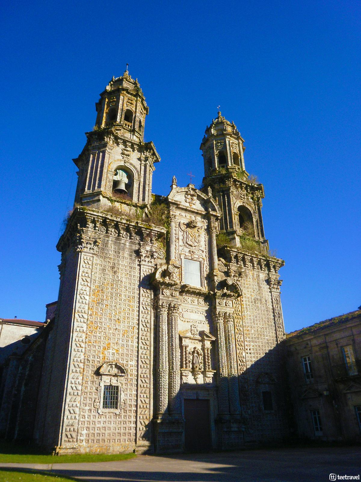 Camino del Norte - Monasterio de Santa María de Sobrado dos Monxes