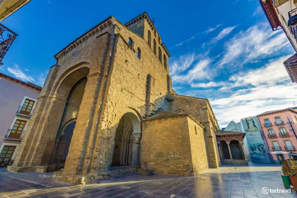 Camino Aragonés - Catedral de San Pedro de Jaca