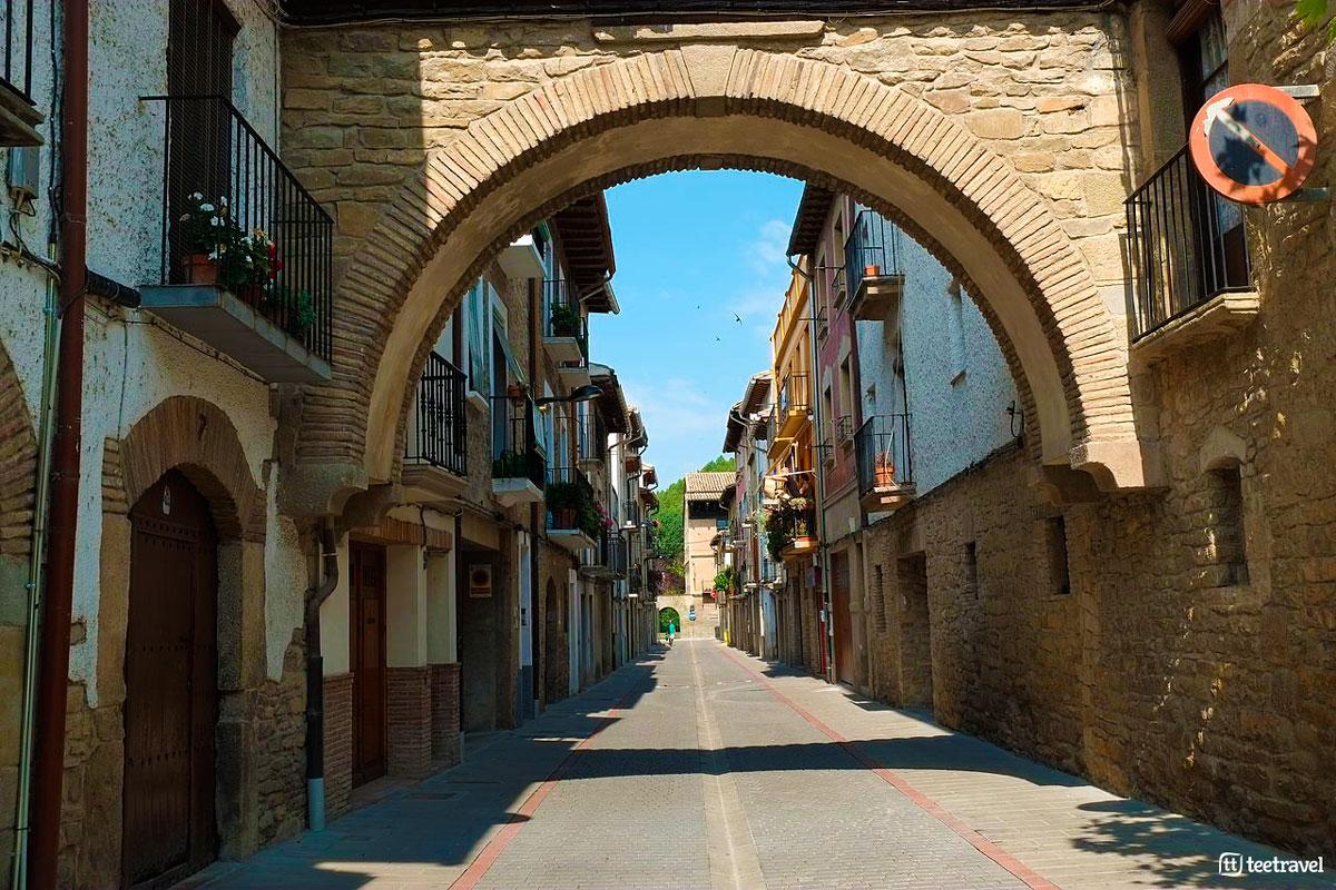 Sangüesa - Camino Francés Aragonés