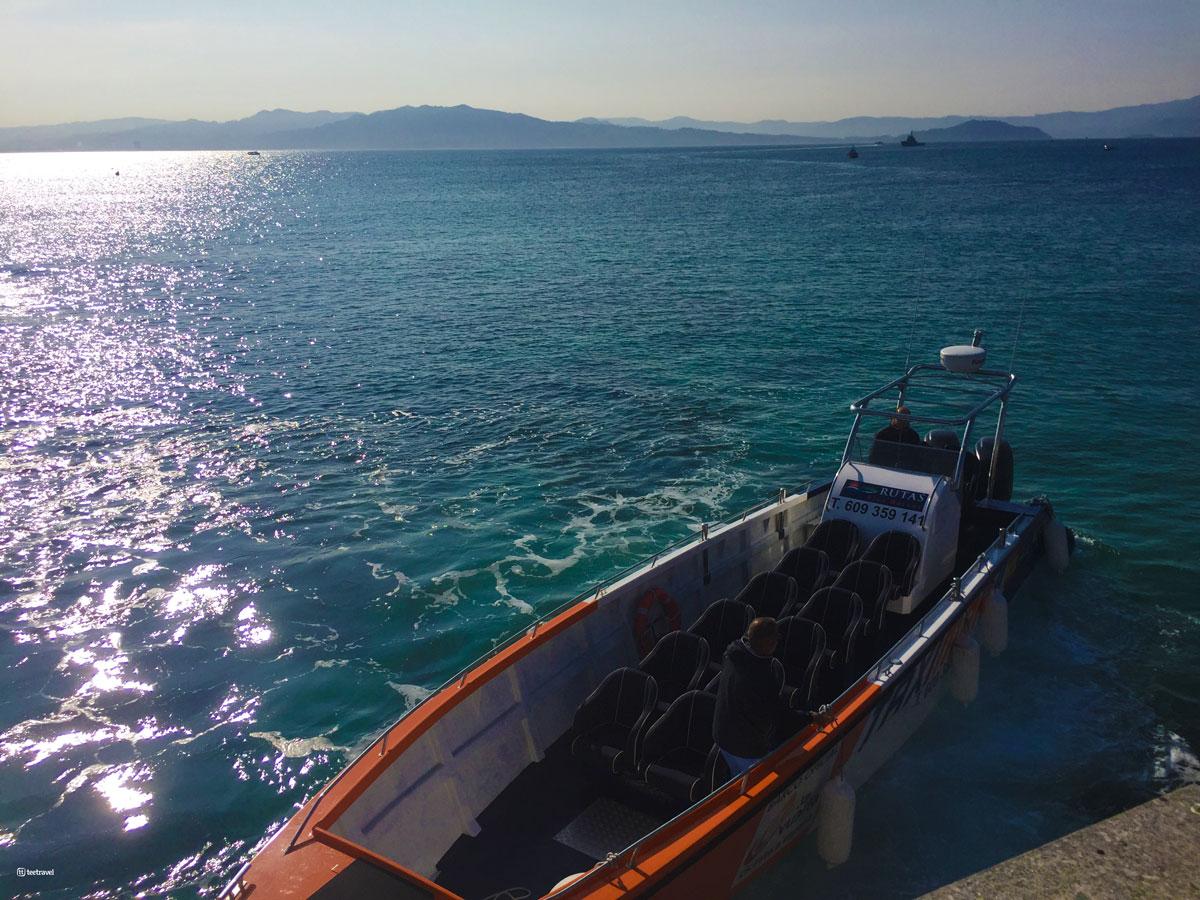 Ría de Vigo - Islas Cíes - Viaje en Barco