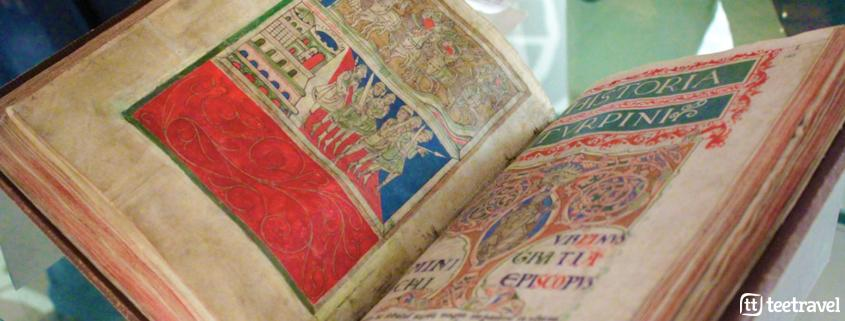 Codex Calixtinus o Códice Calixtino - Archivo de la Catedral de Santiago de Compostela