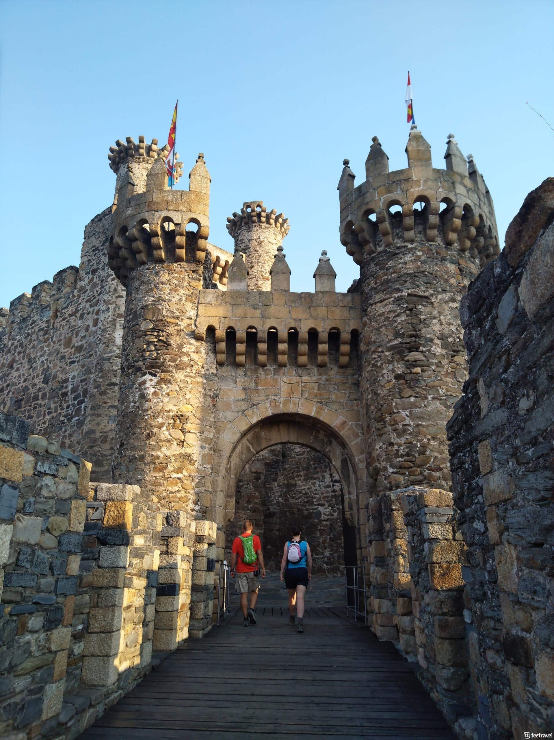 Camino de Invierno - Ponferrada - Entrada del Castillo de los Templarios
